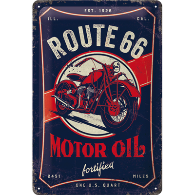 22315 Kilpi 20x30 Route 66 Motor Oil