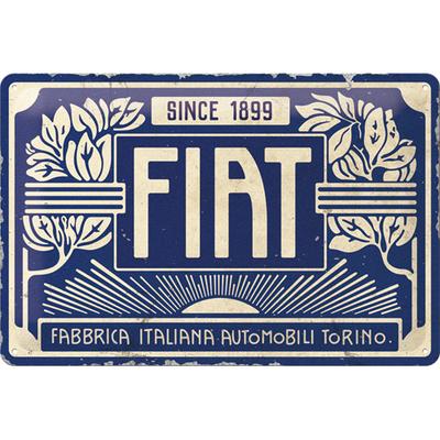 22321 Kilpi 20x30 Fiat - Since 1899 Logo Blue
