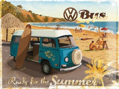 23129 Kilpi 30x40 VW Bus Ready for the Summer