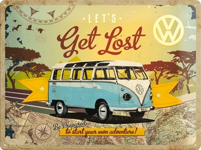 23155 Kilpi 30x40 VW Let's get lost