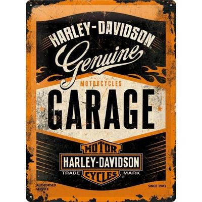 23188 Kilpi 30x40 Harley-Davidson Garage