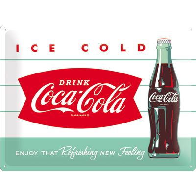 23191 Kilpi 30x40 Coca-Cola Ice cold