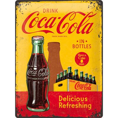 23195 Kilpi 30x40 Coca-Cola in bottles