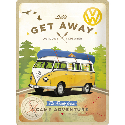 23208 Kilpi 30x40 VW Let's get away