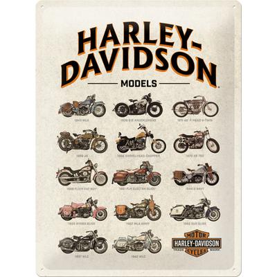 23233 Kilpi 30x40 Harley-Davidson Models