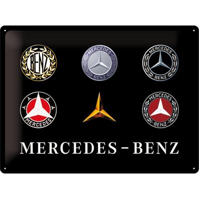 23251 Kilpi 30x40 Mercedes-Benz logot