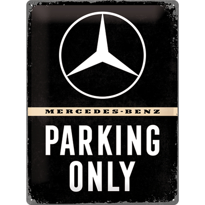 23262 Kilpi 30x40 Mercedes-Benz Parking Only