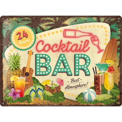 23264 Kilpi 30x40 Cocktail Bar