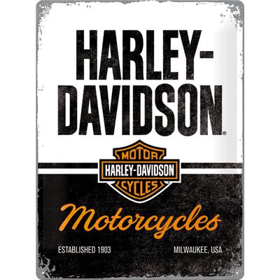 23266 Kilpi 30x40 Harley-Davidson - Motorcycles