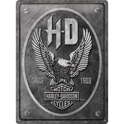 23267 Kilpi 30x40 Harley-Davidson - Metal Eagle