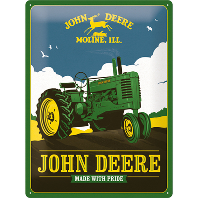 23275 Kilpi 30x40 John Deere - Made With Pride