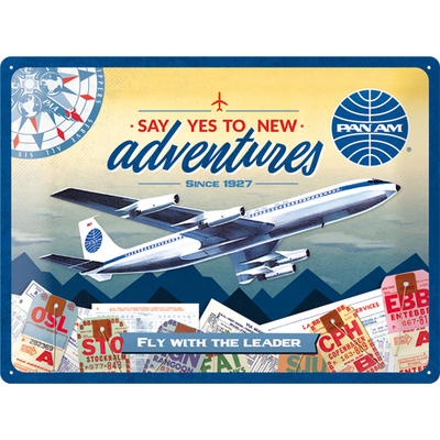 23278 Kilpi 30x40 Pan Am - New Adventures