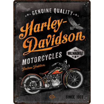 23279 Kilpi 30x40 Harley-Davidson - Timeless Tradition