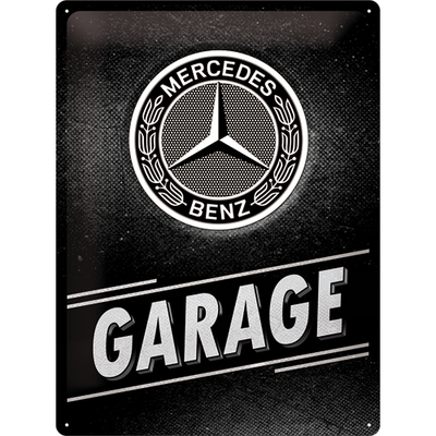 23280 Kilpi 30x40 Mercedes-Benz - Garage