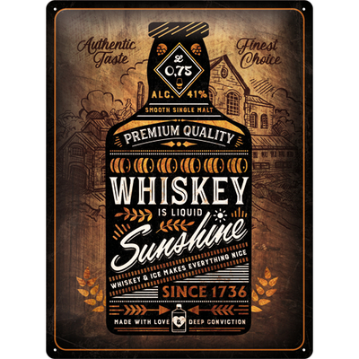 23281 Kilpi 30x40 Whiskey Sunshine
