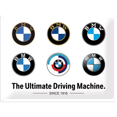 23296 Kilpi 30x40 BMW - Logo Evolution