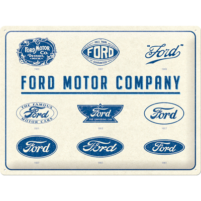 23299 Kilpi 30x40 Ford - Logo Evolution