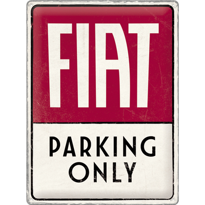 23300 Kilpi 30x40 Fiat - Parking Only