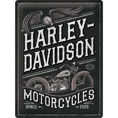 23301 Kilpi 30x40 Harley-Davidson - Motorcycles Eagle