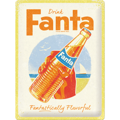 23303 Kilpi 30x40 Fanta - Bottle