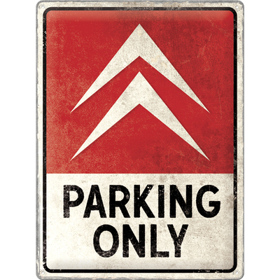 23307 Kilpi 30x40 Citroen - Parking Only