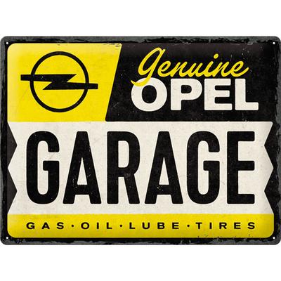 23315 Kilpi 30x40 Opel - Garage