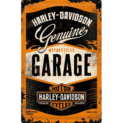 24001 Kilpi 40x60 Harley-Davidson Garage
