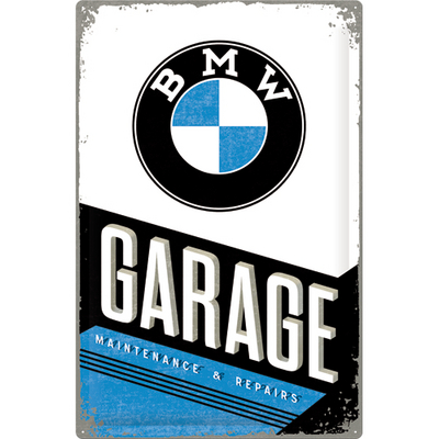 24003 Kilpi 40x60 BMW Garage