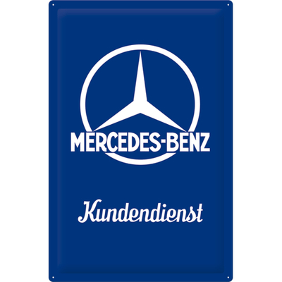 24012 Kilpi 40x60 Mercedes-Benz Kundendienst