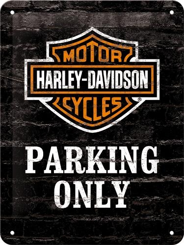 26117 Kilpi 15x20 Harley-Davidson Parking Only