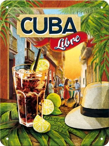 26143 Kilpi 15x20 Cuba Libre