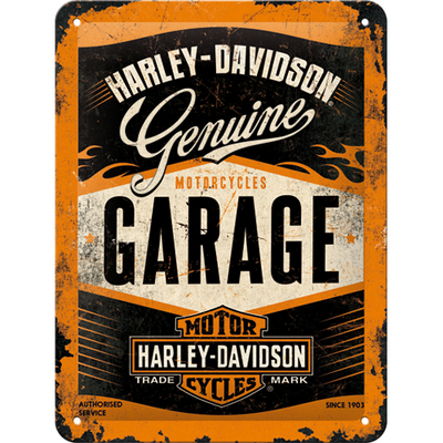 26178 Kilpi 15x20 Harley-Davidson Garage