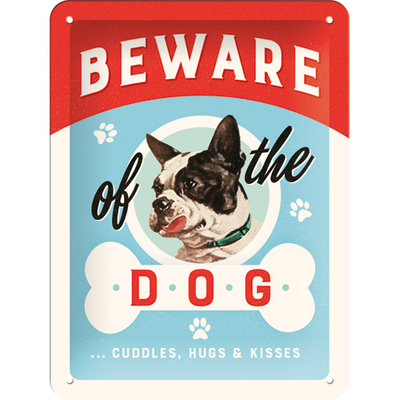 26209 Kilpi 15x20 Beware of the Dog