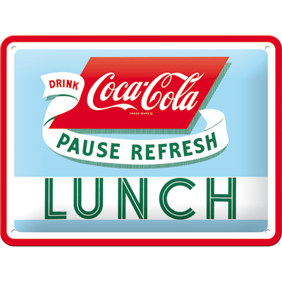 26223 Kilpi 15x20 Coca-Cola Lunch