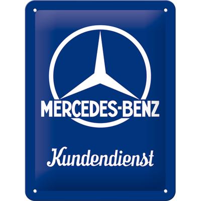 26226 Kilpi 15x20 Mercedes-Benz Kundendienst
