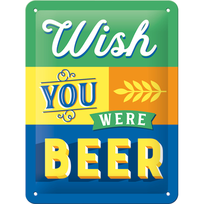 26229 Kilpi 15x20 Wish You Were Beer