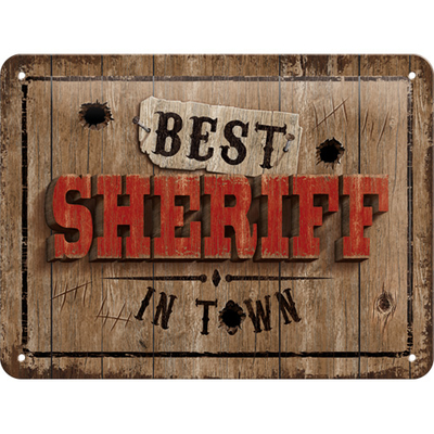 26241 Kilpi 15x20 Best Sheriff in Town