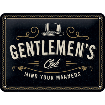 26249 Kilpi 15x20 Gentlemen's Club