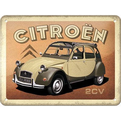26257 Kilpi 15x20 Citroen - 2CV