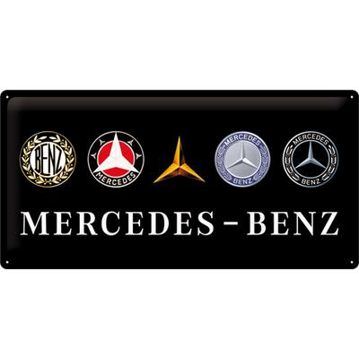 27026 Kilpi 25x50 Mercedes-Benz logot