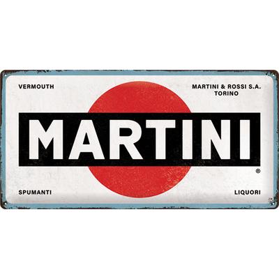 27030 Kilpi 25x50 Martini - Logo White
