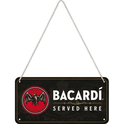 28042 Kilpi 10x20 Bacardi - Served Here