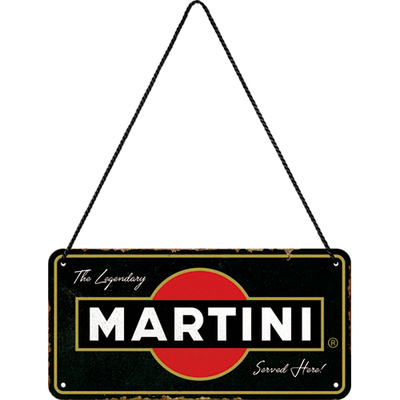28043 Kilpi 10x20 Martini Served Here