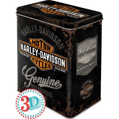 30107 Säilytyspurkki L Harley-Davidson Genuine logo