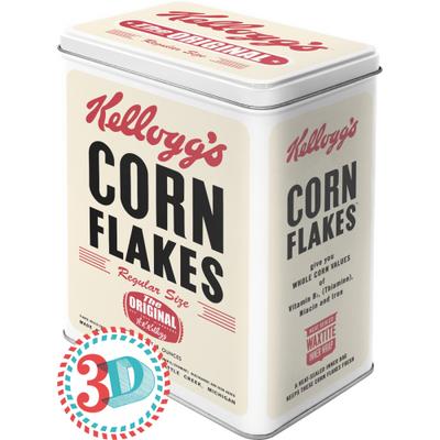 30113 Säilytyspurkki L 3D Kellogg's Corn Flakes The Original