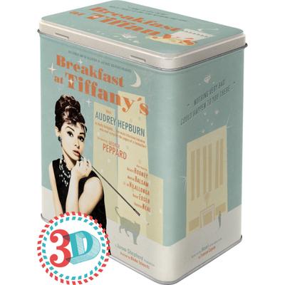 30119 Säilytyspurkki L Breakfast at Tiffany's juliste sininen