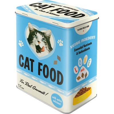 30143 Säilytyspurkki L Cat Food