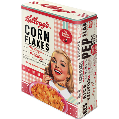 30324 Säilytyspurkki XL Kellogg's Corn Flakes Collage tyttö