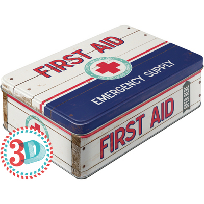 30721 Säilytyspurkki flat 3D First Aid Emergency supply