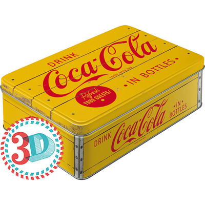 30725 Säilytyspurkki flat Coca-Cola in bottles